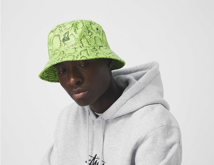 Kangol Snakeskin Bucket Hat