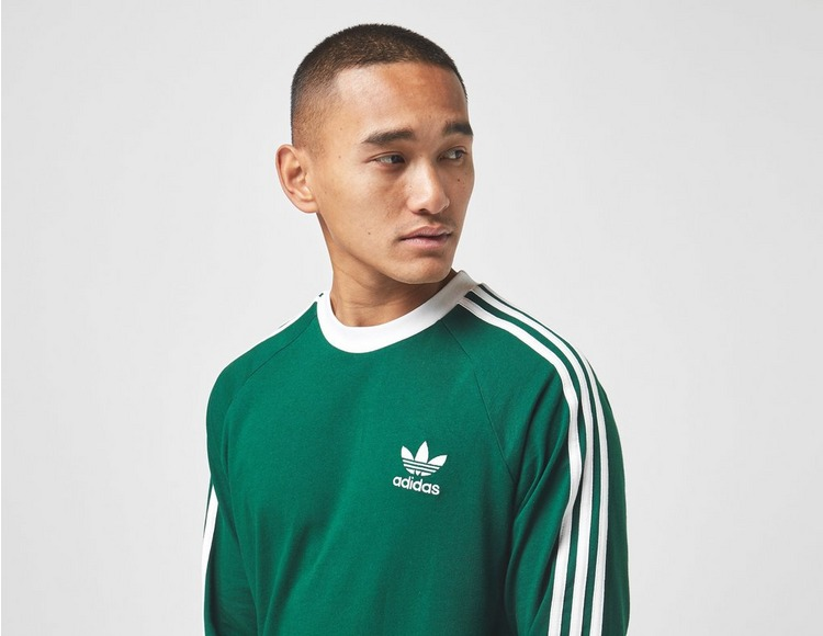 adidas Originals 3-Stripe Long Sleeved T-Shirt