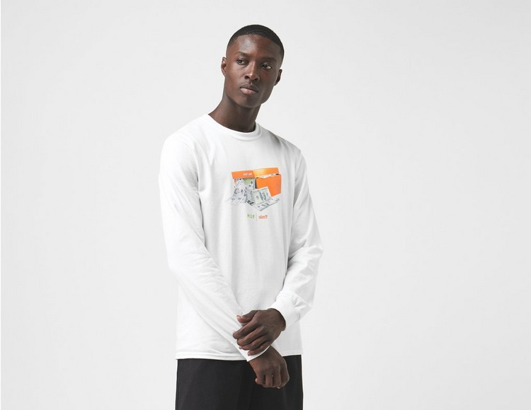 Huf x size? Stash Box Long Sleeve T-Shirt