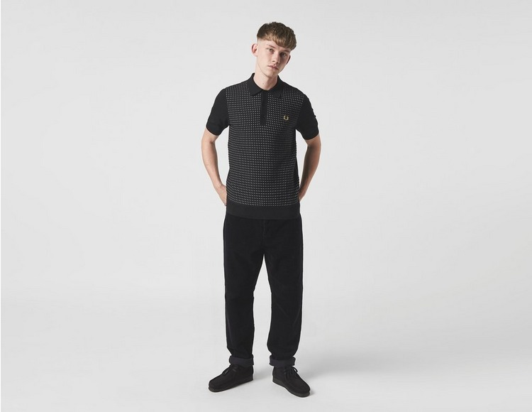 Fred Perry Textured Knit Polo