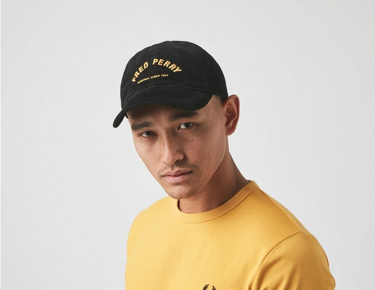 Fred Perry Corduroy Arch Branded Cap