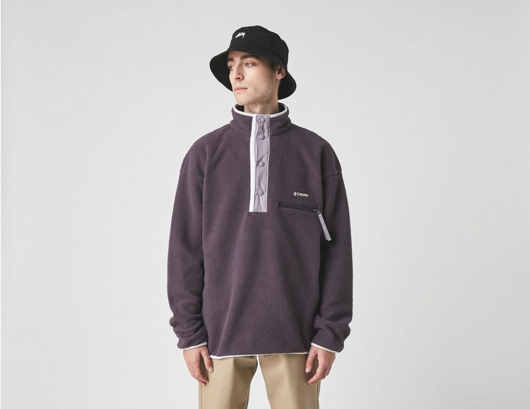 Columbia Sweat-shirt Molletonné Helvetia Demi Zippé