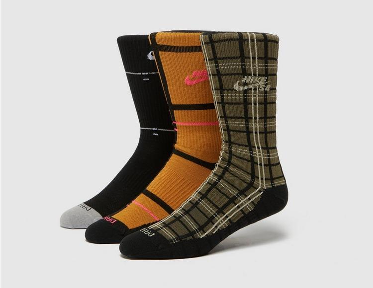 Nike SB 3-Pack Lightweight Crew Socks