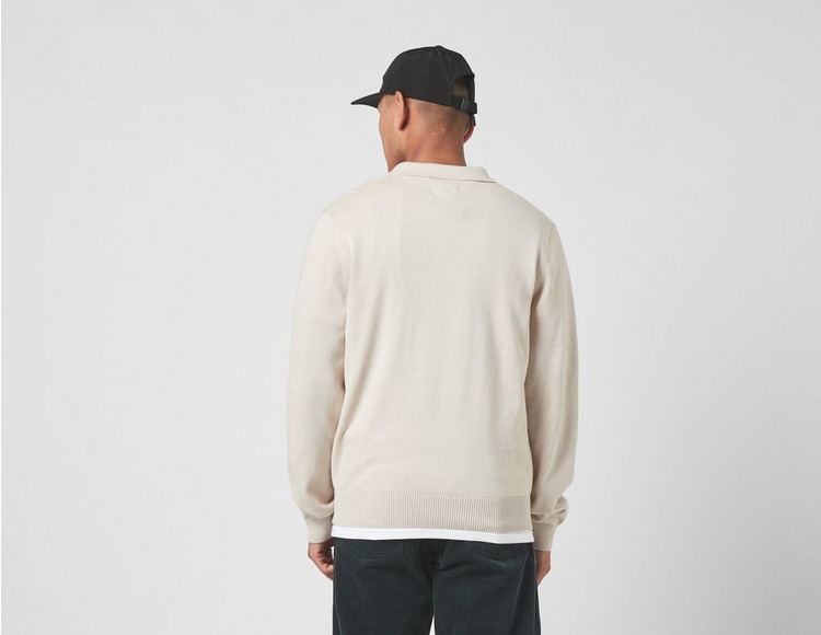 Stussy S Chain Long Sleeve Knit Polo