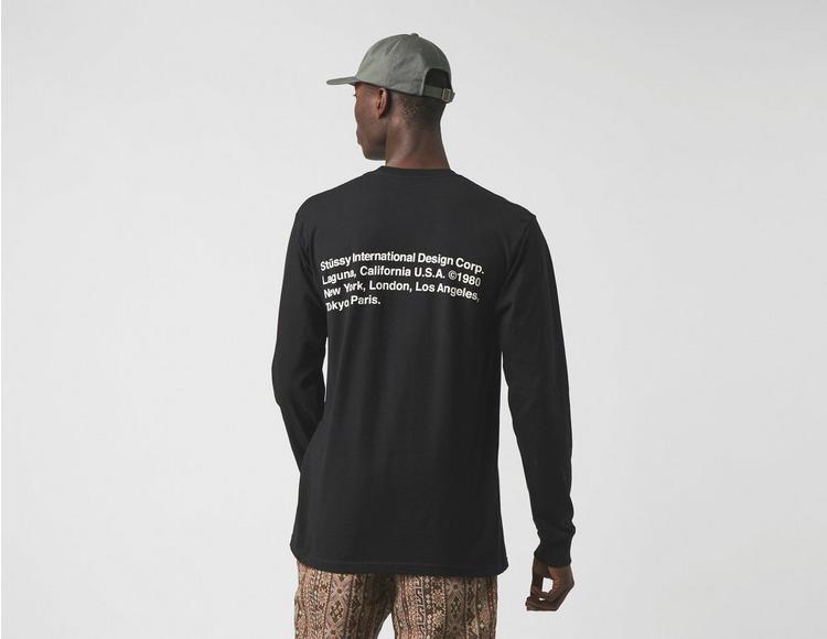 Stussy Long Sleeve 8 Ball Corp T-Shirt