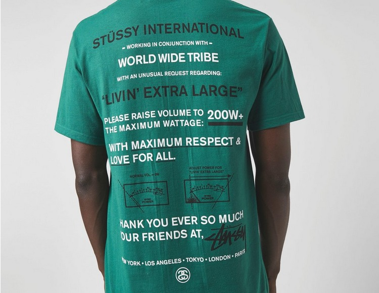 Stussy Maximum Respect T-Shirt