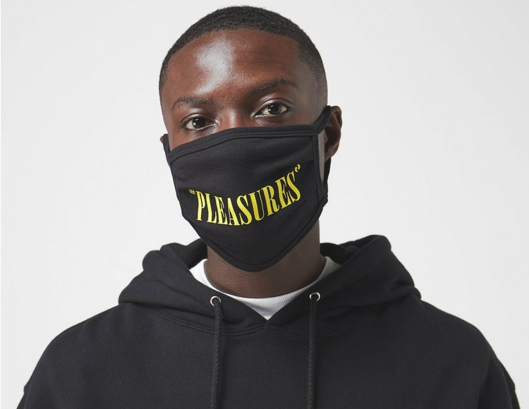 Pleasures Logo Face Covering