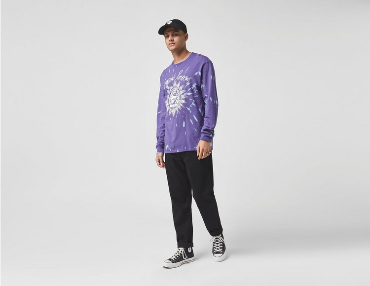 Huf x The Smashing Pumpkins Long Sleeve Siva T-Shirt