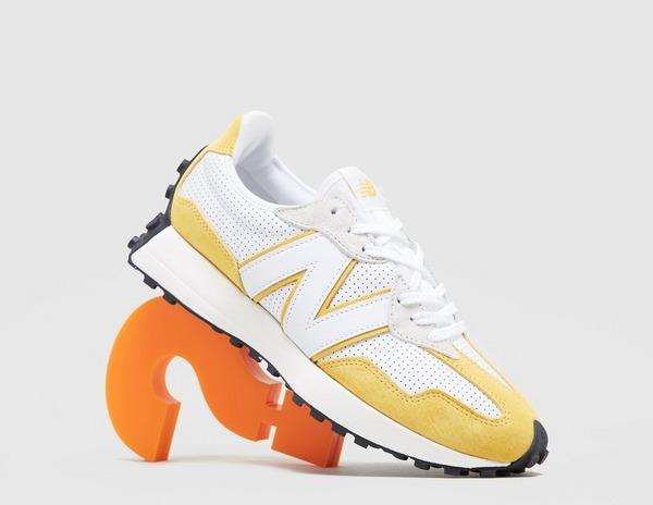 White New Balance 327   size?