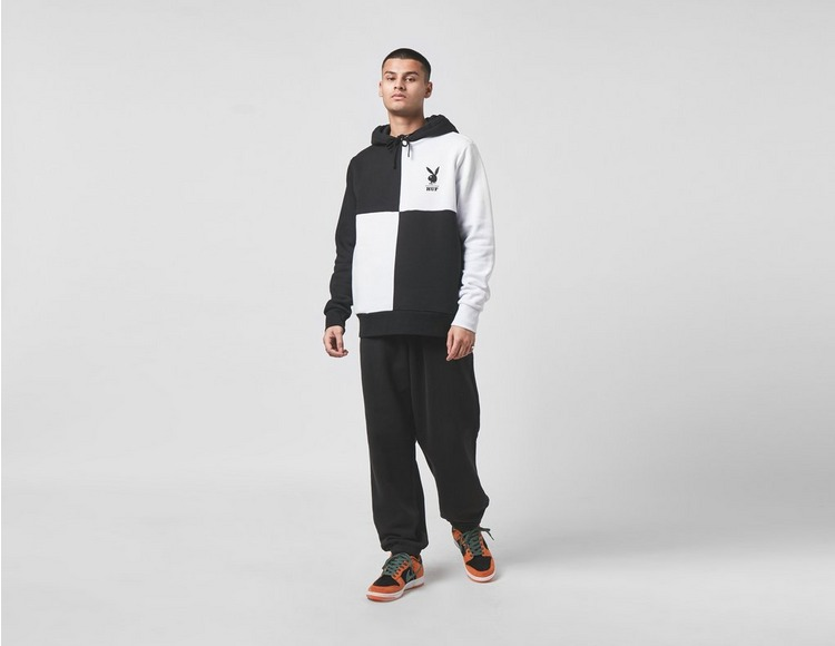 Huf x Playboy Colour Block Pullover Hoodie