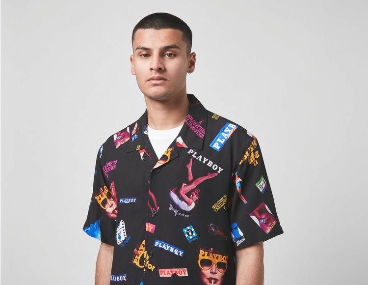 Huf x Playboy Collage Short Sleeve Woven Shirt