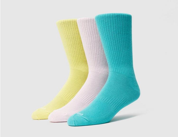 Nike 3 Pack Everyday Plus Lightweight Crew Socks