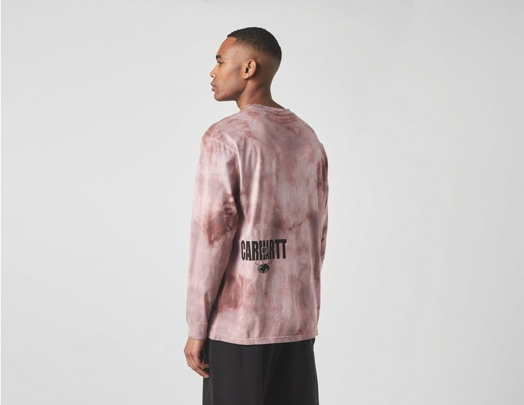 Carhartt WIP Long Sleeve Tie Dye T-Shirt