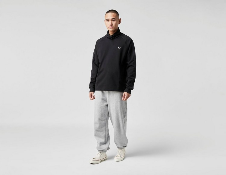 Fred Perry Tonal Tape Funnel Neck Collegepaita