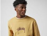 Stussy Stock Applique Crew Sweatshirt