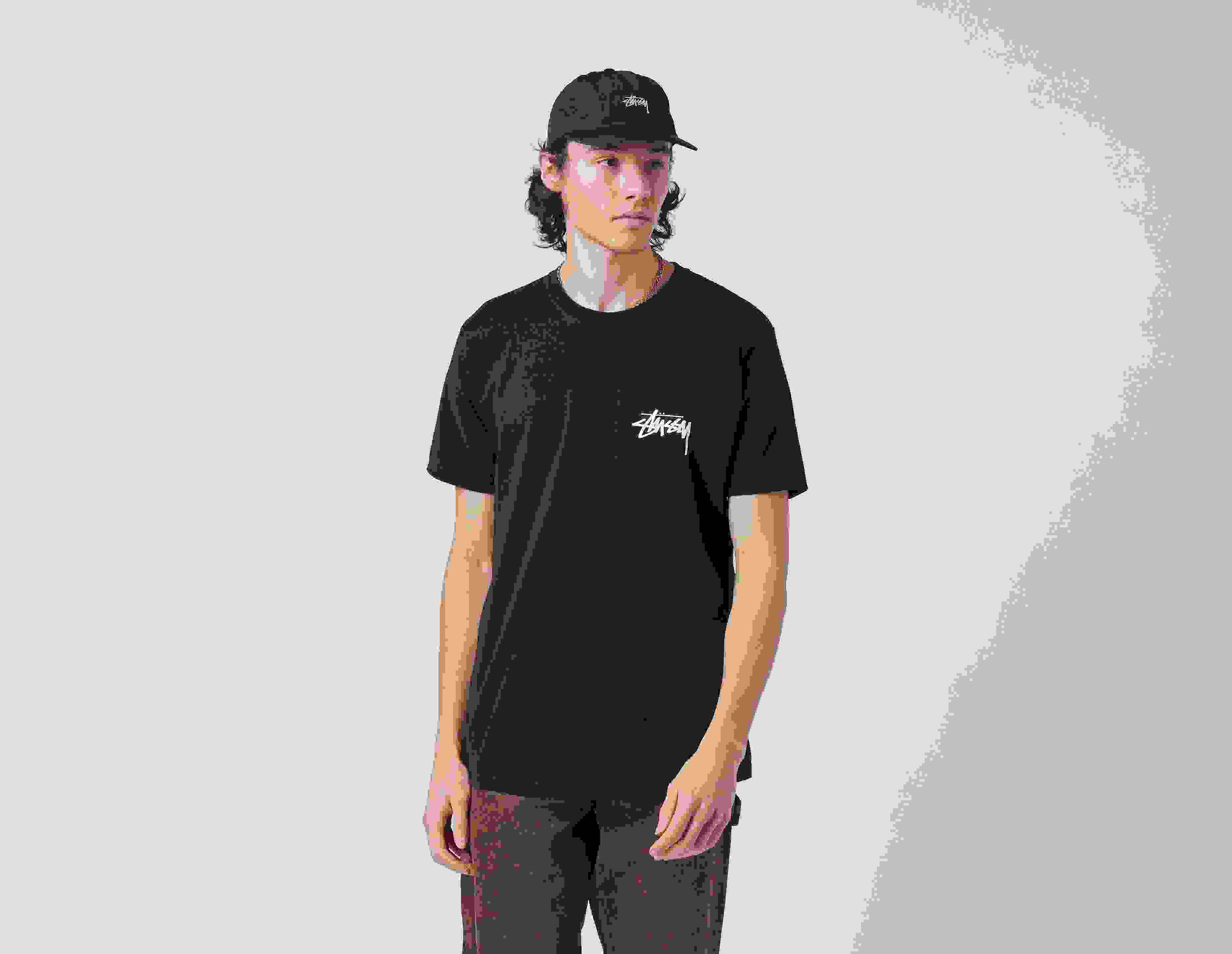 Stussy Peace Sign T-Shirt Black
