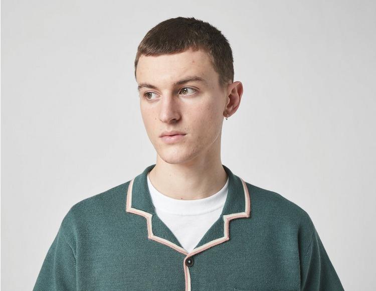 Stussy Stripe Edge Knit Shirt
