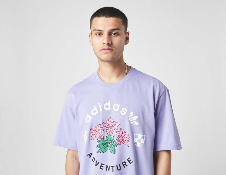 adidas Originals Adventure Flowers T-Shirt