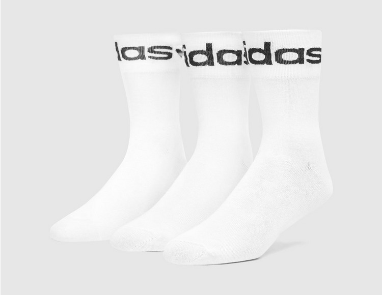 adidas Originals Fold-Cuff Crew Socks 3-Pack