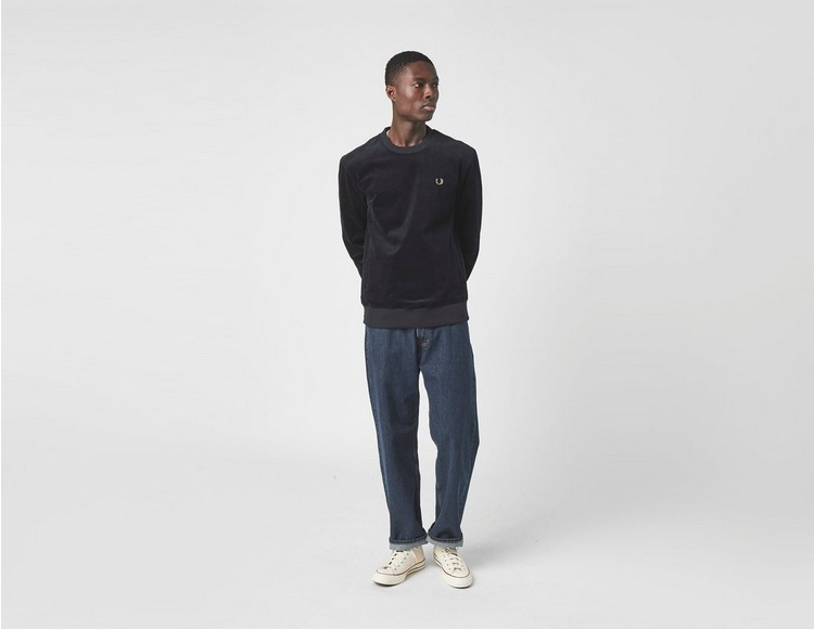 Fred Perry Woven Cord Sweatshirt