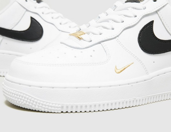 White Nike Air Force 1 '07 Essential Women's   size?