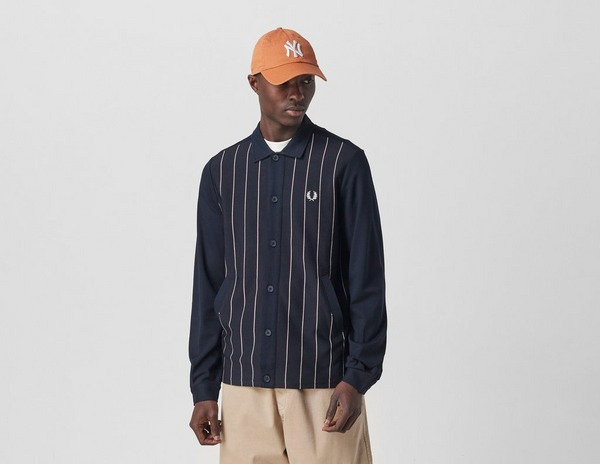 Fred Perry Knitted Panel Track Jacket