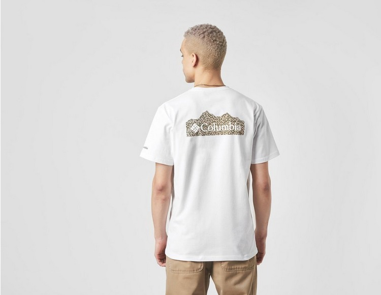 Columbia T-Shirt Scratch Back Print - Exclusivité size?