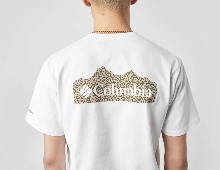 Columbia Scratch Back Print T-Shirt size? Exclusive