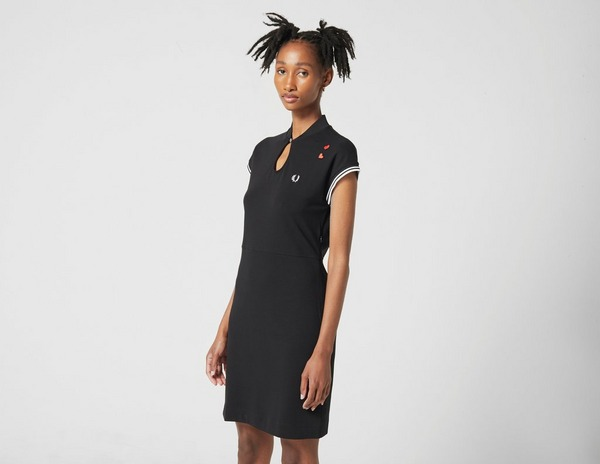 Fred Perry Amy Winehouse Keyhole Pique Dress
