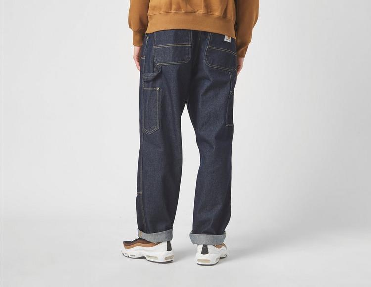 Carhartt WIP Double Knee Denim Mid Wash Jeans
