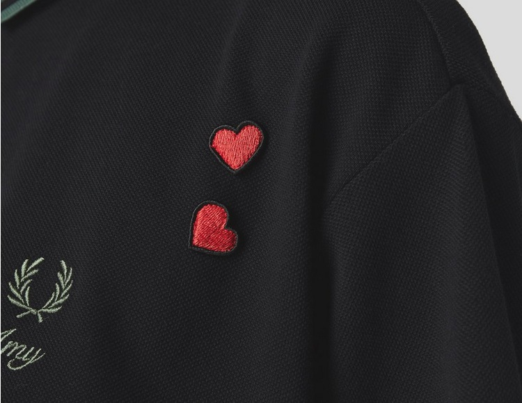 Fred Perry Amy Winehouse Cropped Pique Shirt