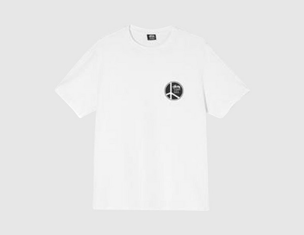 Stussy Peace Dot Pigment Dyed T-Shirt