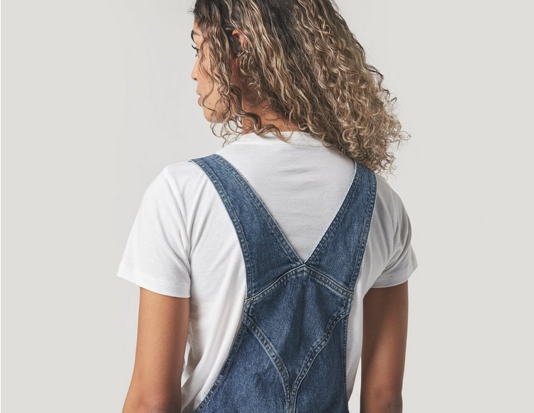 Tommy Jeans Denim Dungaree Mid Wash