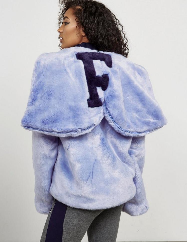 PUMA x Fenty Faux Fur Bomber Jacket