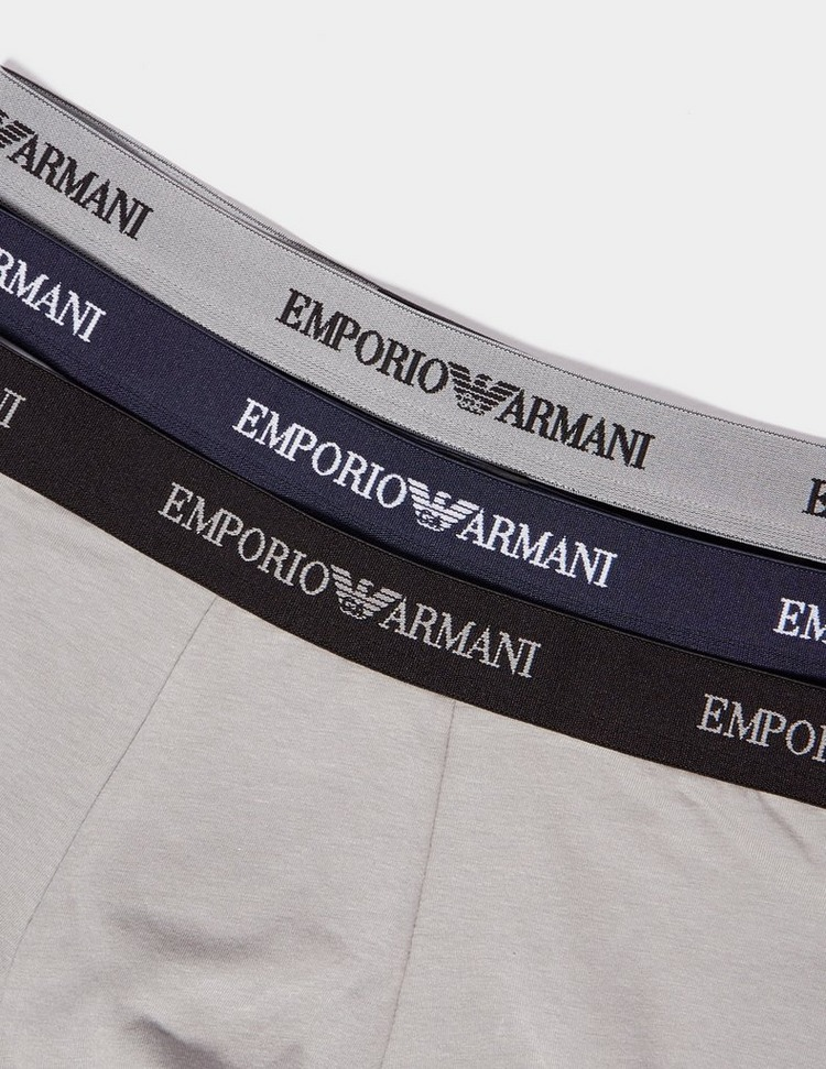 Emporio Armani Loungewear 3 Pack Boxer Shorts Men's