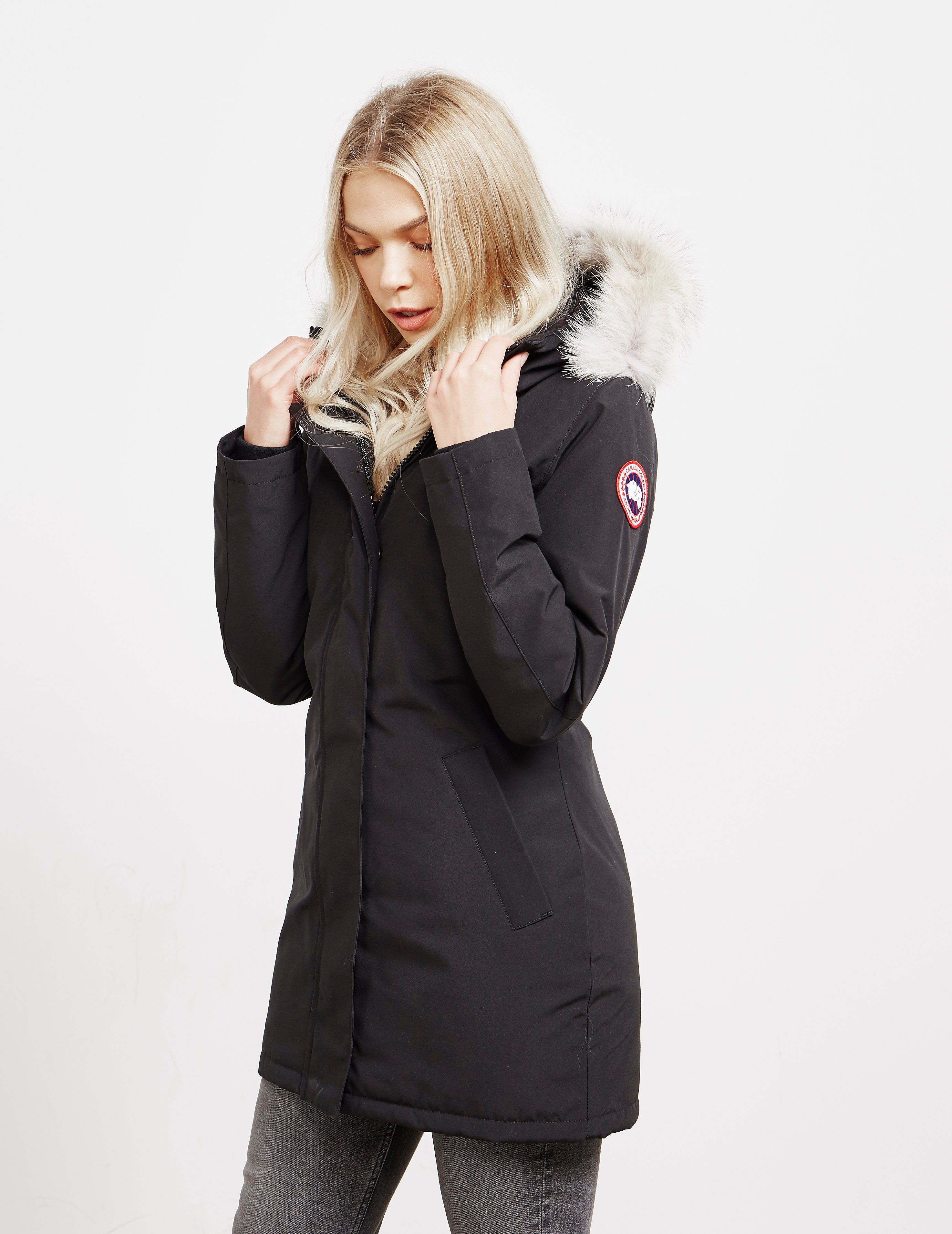 official photos 360fe dd68a Canada Goose Victoria Padded Parka Jacket | Tessuti