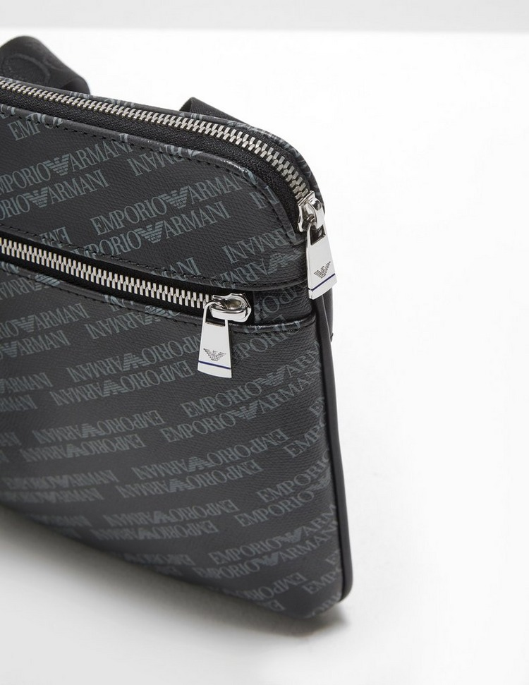 Emporio Armani All Over Logo Small Item Bag