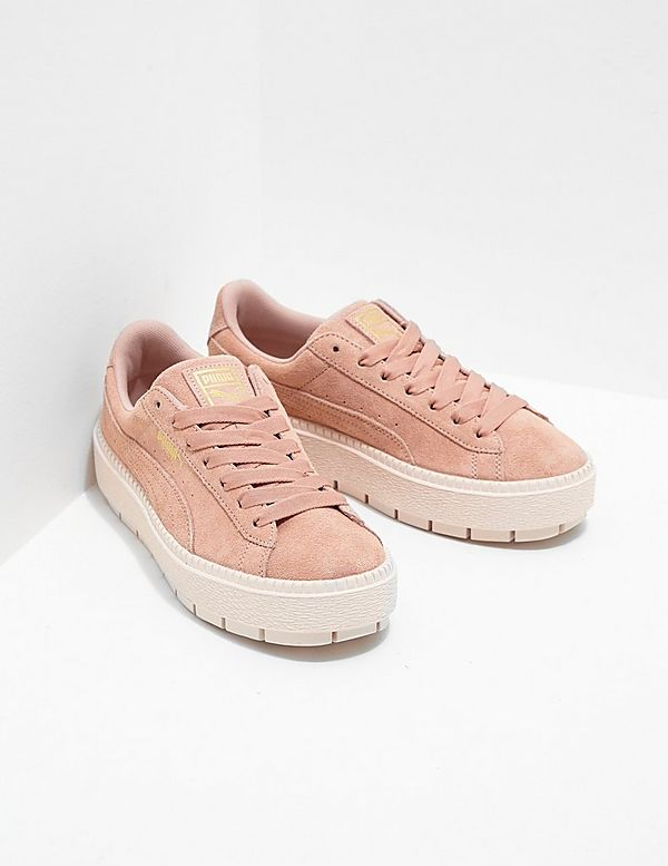 detailed look a11ae d9f04 PUMA Suede Platform Trace Women's | Tessuti