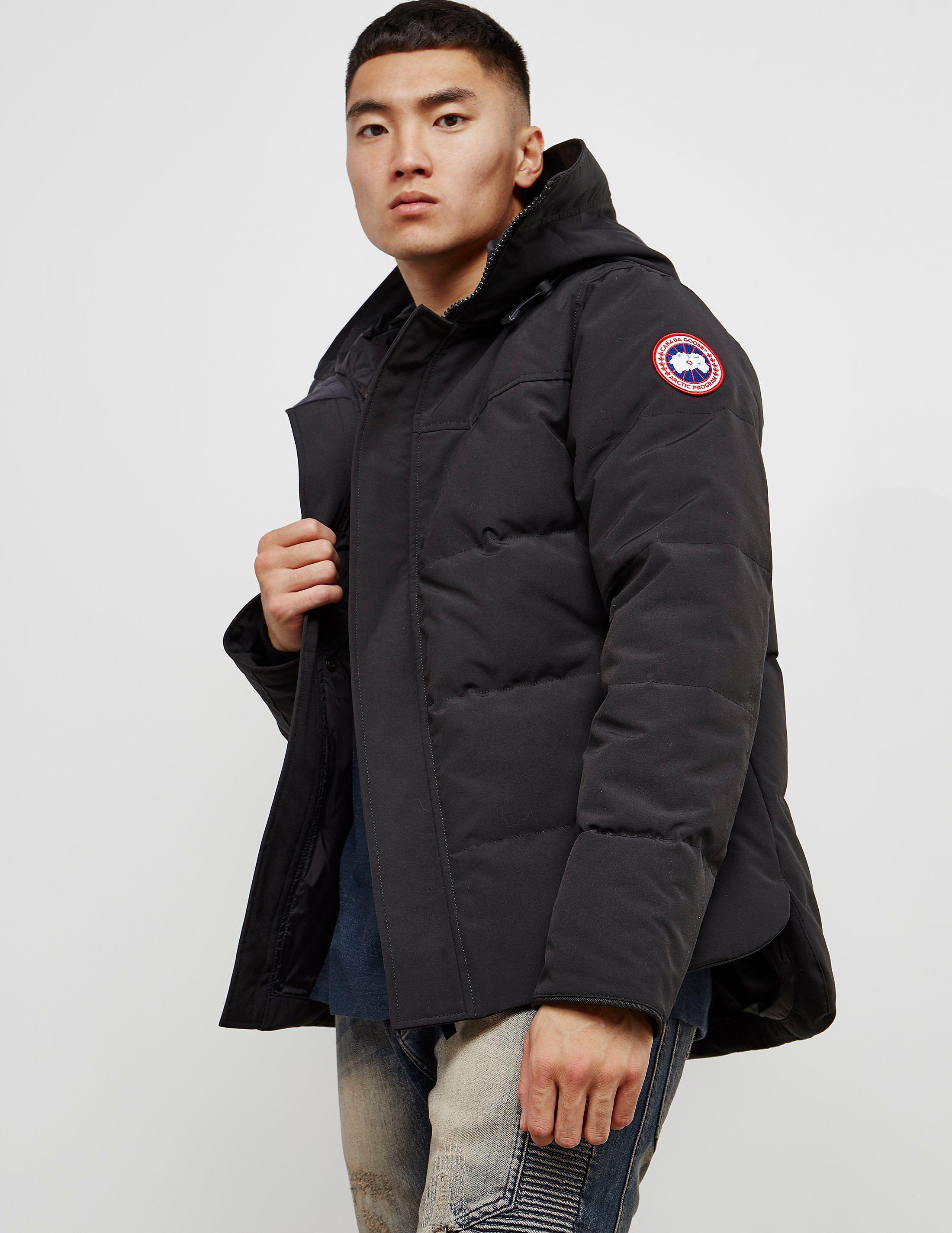 01b809c5c40 Canada Goose Macmillan Padded Parka Jacket | Tessuti