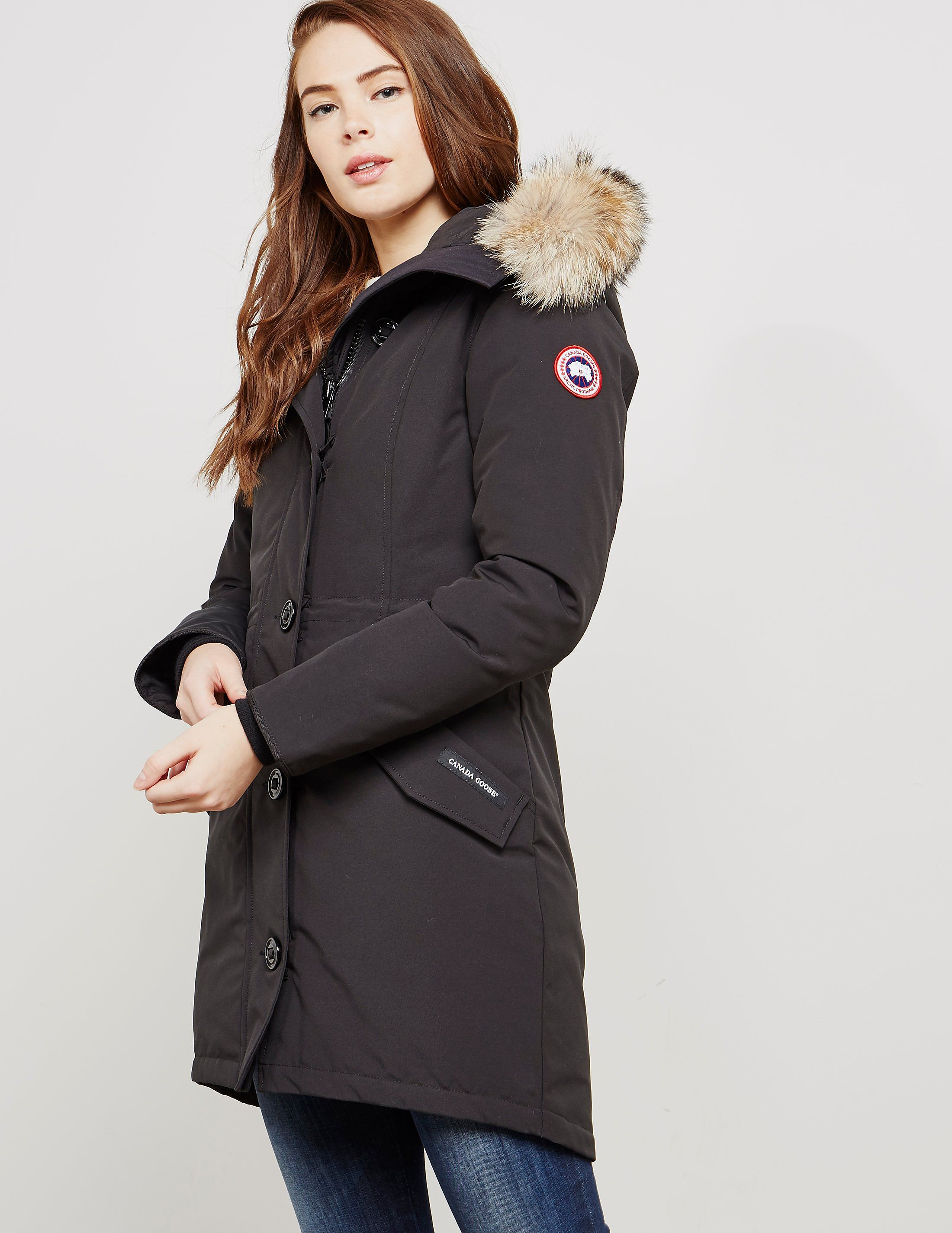 5856b277aaa Canada Goose Rossclair Padded Parka Jacket | Tessuti