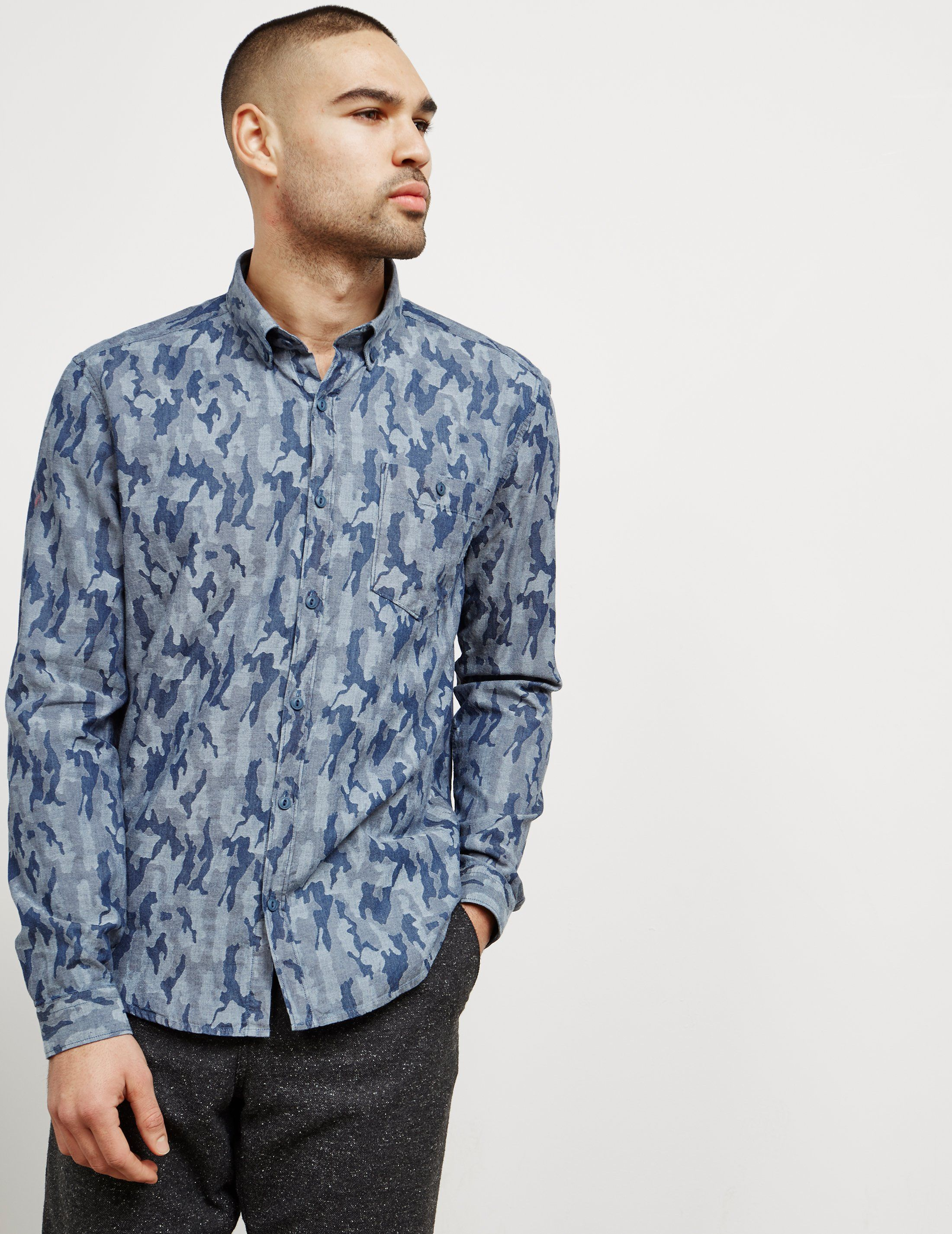 Barbour Camouflage Long Sleeve Shirt - Online Exclusive