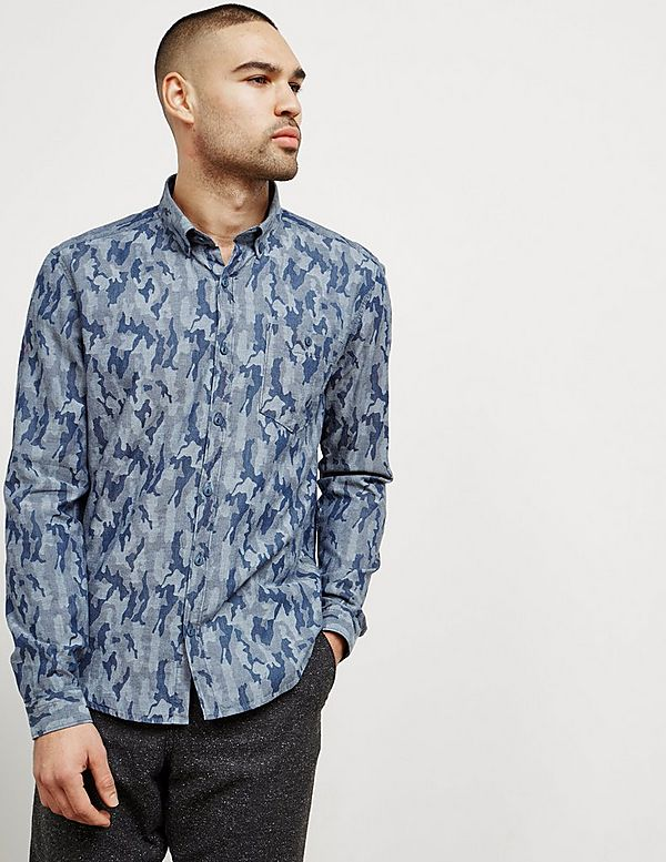 0ebb07bc Barbour Camouflage Long Sleeve Shirt - Online Exclusive | Tessuti