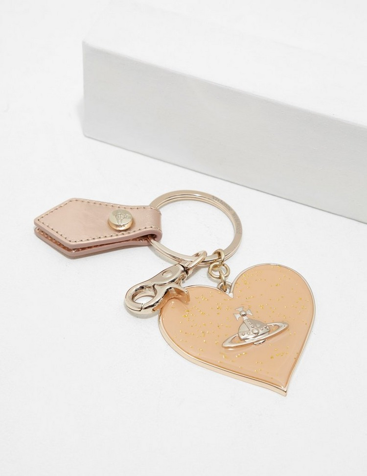 Vivienne Westwood Heart Keyring