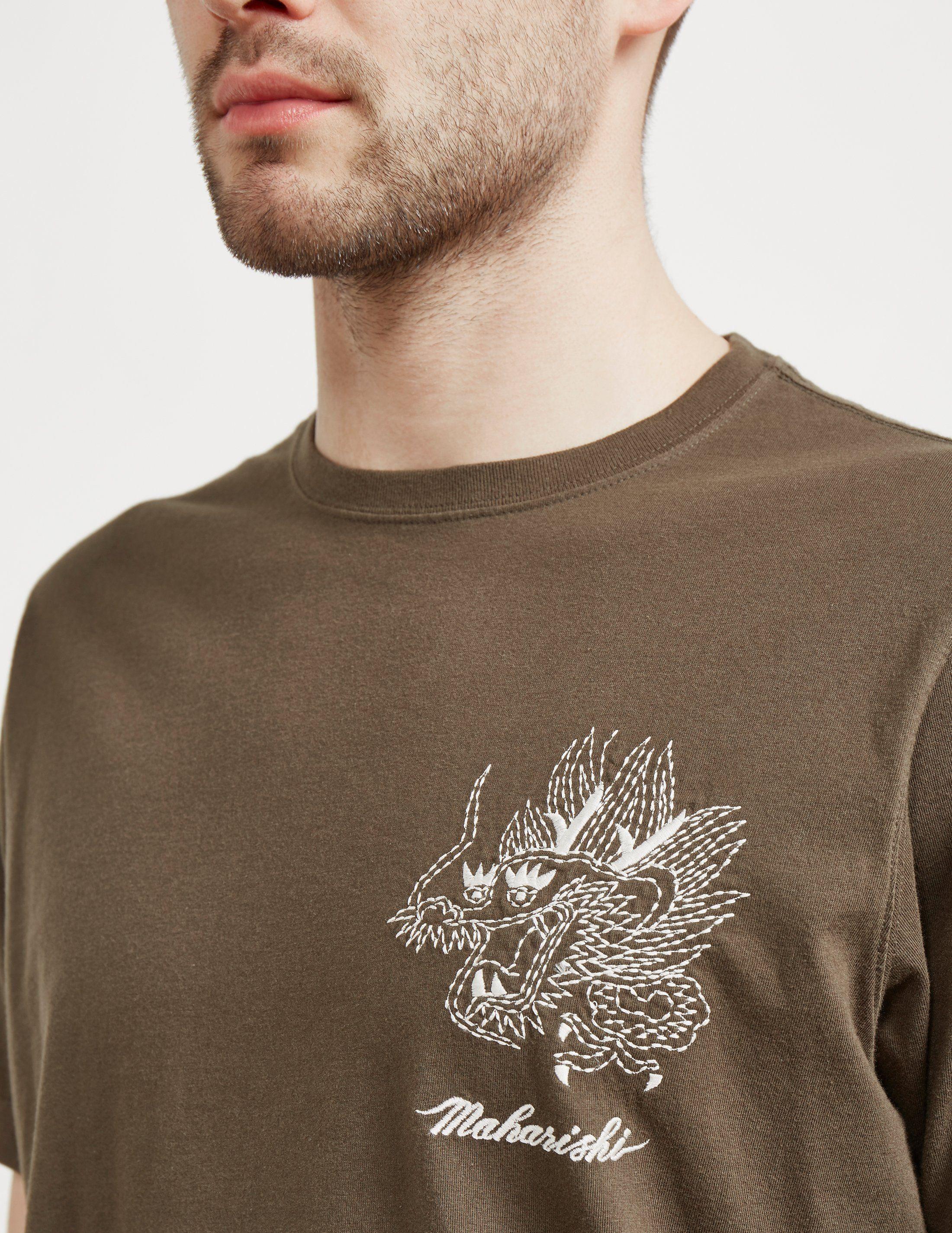 Maharishi Sten Dragon Short Sleeve T-Shirt