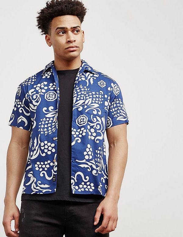 1aca4862 Replay Floral Print Short Sleeve Shirt | Tessuti