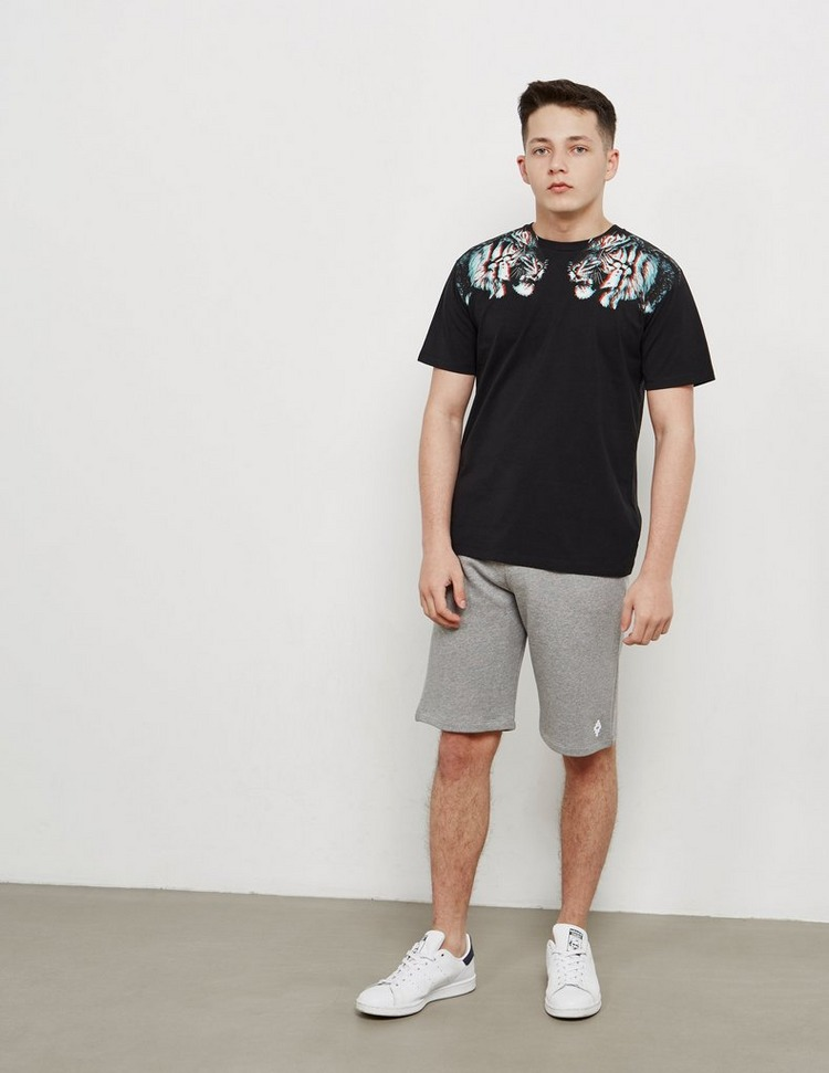 Marcelo Burlon 3D Tiger Short Sleeve T-Shirt