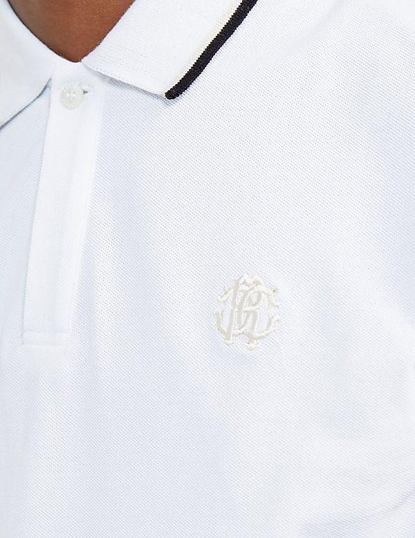 a4b258fe Roberto Cavalli Pique Short Sleeve Polo Shirt   Tessuti