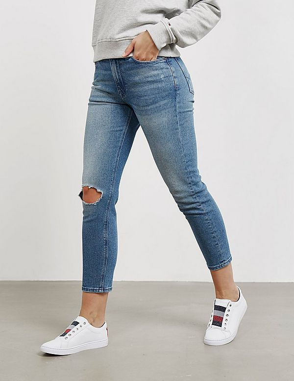 518e2cb6b Tommy Jeans Izzy High Waisted Jeans | Tessuti