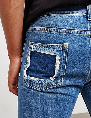 Maison Margiela Decorte Fitted Jeans - Online Exclusive