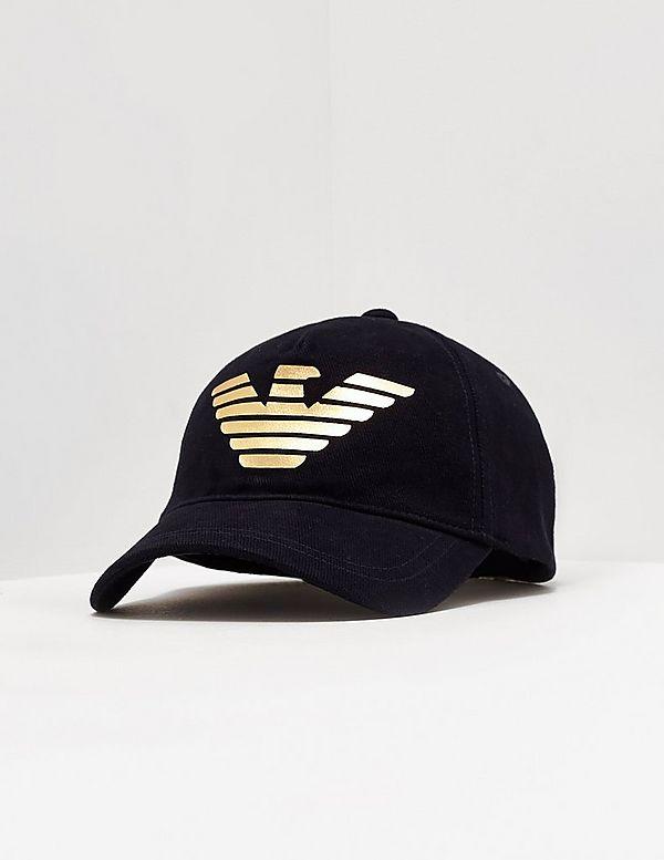 d777b270ec3 Emporio Armani Foil Eagle Cap